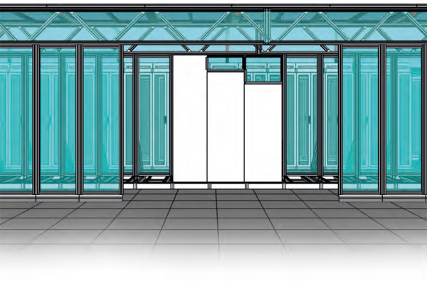 Cold Aisle Containment- for Data Center