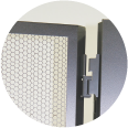 Doors for Colocation Rack-Cabinets
