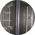 Vertical Cable Management for Data Center