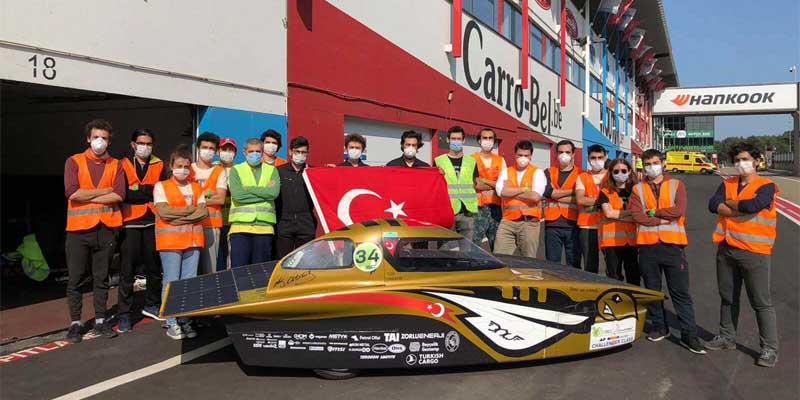 ITU Solar Car Returned from ESC 2020 Race with an Award ...